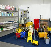 Компания Франклин предоставляет услуги по уборке помещений